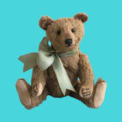 Charming Handmade Viscose Artist Teddy Bear by Burlison Bears