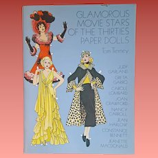 Tom Tierney Paper Dolls Glamorous Stars of the Thirties