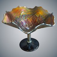 Northwood Carnival Glass Blossom Time Amethyst