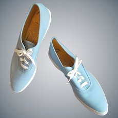 1960s Women's Tennis Shoes SKIPS Mint in Box 7N