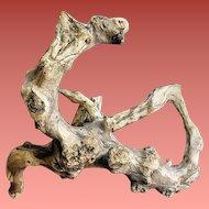 Natural Driftwood Sculpture Fairy Garden or Display Wooden Branch