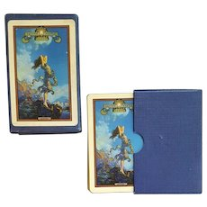 Maxfield Parrish Playing Cards ECSTASY Edison Mazda