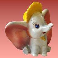 Vintage 1941 Dumbo Walt Disney Figurine Vernon Kilns USA 41