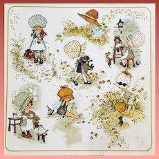 Vintage Stationery Holly Hobbie Sealed 1968