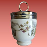 Royal Worcester Egg Coddler Berry Pattern Evesham