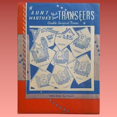 Hot Iron Transfers Bride DOW Towels Aunt Martha # 9330