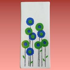 Mid Century Modern Vase Marimekko Style