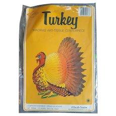 Beistle Honeycomb Thanksgiving Turkey MIP