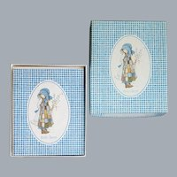 Holly Hobbie Note Cards MIB 1976 Stationery