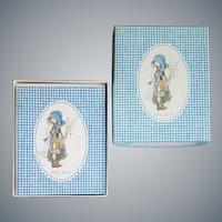 Holly Hobbie Note Cards MIB 1976