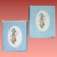 Holly Hobbie Note Cards MIB 1976