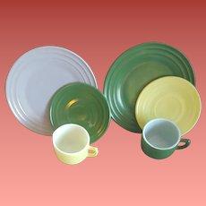 Child's Play Dishes, Hazel Atlas Moderntone