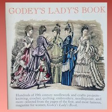 Godey's Lady's Book of Antique Needlework Wiczyk