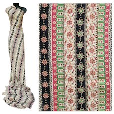 Rayon Cotton Blend Sewing Fabric 4 + Yards