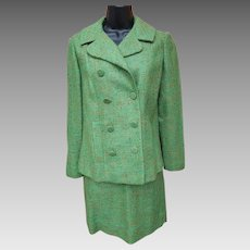 1960s Women's Suit Mini Skirt Size Extra Small