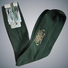 BanLon Socks Mens 1960s Unworn With Tags Dark Green