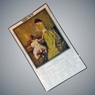Antique 1915 Advertising Calendar Parma, Idaho
