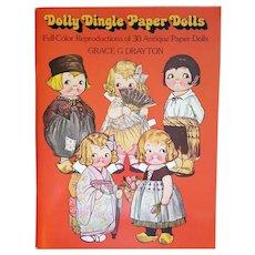 Dolly Dingle Paper Dolls Grace Drayton 1978 Edition