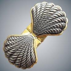 Vintage Belt Clip Sea Shells by Paquette