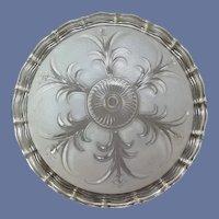 Round Glass Light Shade 1947 Beauty