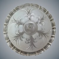 Round Glass Light Shade 1947 Beauty