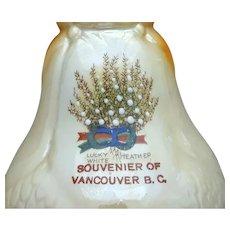 Antique Souvenir Vase Vancouver B.C. 1900