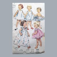 Sweetest Toddler Lingerie Sewing Pattern
