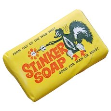 Stinker Soap Advertising Premium Fearless Farris Gas