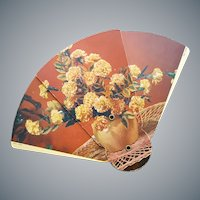 Summer's Funeral Fan 1950s Boise Idaho