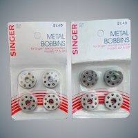 Metal Sewing Bobbins Singer Featherweight 221 and 301