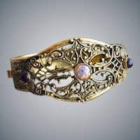 Filigree Clamper Bracelet Superb Jewels Ultra Feminine
