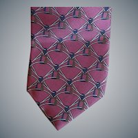 Men's Vintage Yves Saint Laurent Silk Necktie Mint
