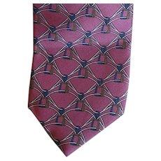 Men's Vintage Yves Saint Laurent Silk Necktie Mint