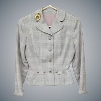 1940s Wasp Waist Jacket Women's Vintage VaVoom