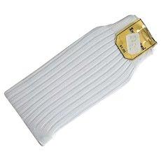 Men's 1960s White Dress Socks 100% Nylon MIP