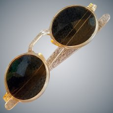 1940s Sunglasses Round Frames Unworn Condition