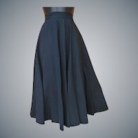 1950s Circle Skirt Justin McCarty Dallas Size Small Mint