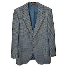 Men's Cashmere Jacket Hart Schaffner Marx Medium