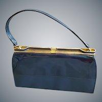 Mid Century Vinyl Purse 1960s Air Step Minty Handbag