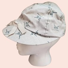 1940s Women's Sports Cap Casual Hat Unworn