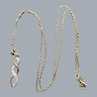 Ultra Feminine Sterling Vermeil Necklace Delicate