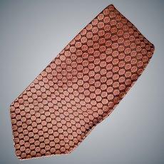 1930s - 1940s Men's Vintage Necktie Depression Era