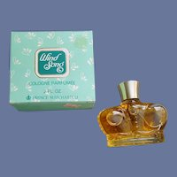 Crown Bottle Prince Matchabelli Wind Song Cologne Parfumee