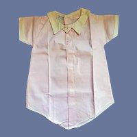 Unworn Baby Romper NRA Tag 1933-1935