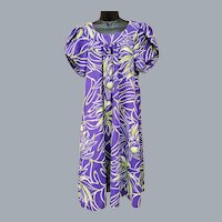Purple Green MuuMuu Size XL Muu Muu