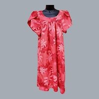 Beautiful Coral Floral MuuMuu XL Muu Muu