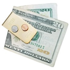 Spring Steel Money Clip Before Taxes and After Taxes