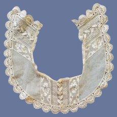Antique Lace Collar 5 Designs on Net
