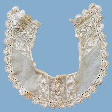 Antique Lace Collar 5 Designs on Net
