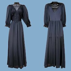 Hard to Find Modest Olga Nightgown With Sleeves Small